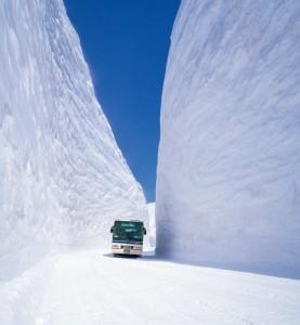 Nevado en Japon