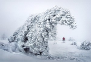 Nieve en Rusia 1