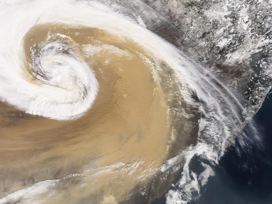 Tormenta de polvo-NASA