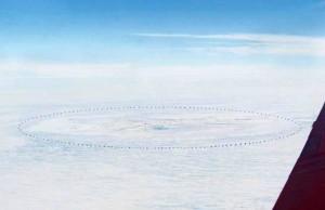 Antartida desde el aire