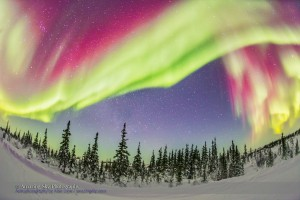 Ultrawide Aurora #2 - Feb 21, 2015