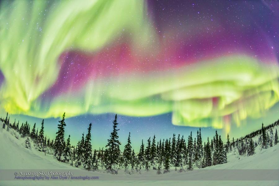Ultrawide Aurora #4 - Feb 21, 2015