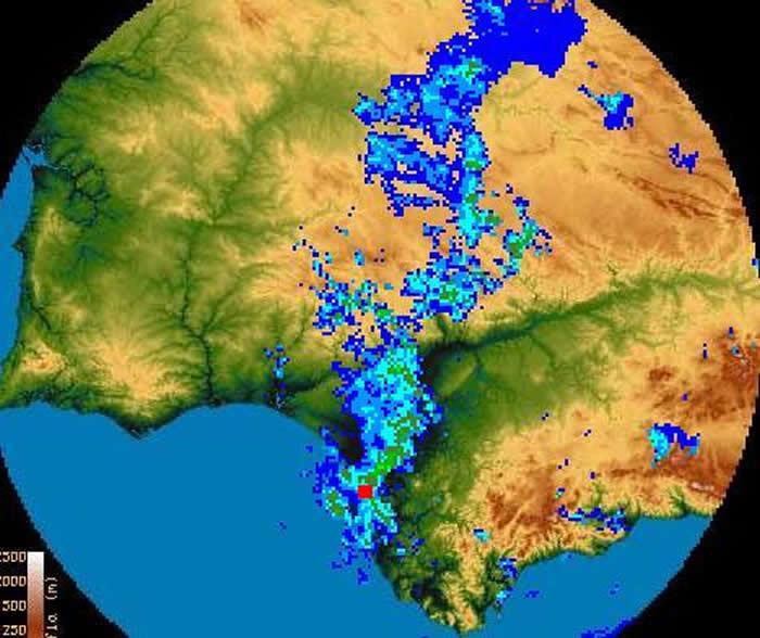 Imagen radar