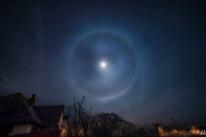 Luna y Halo