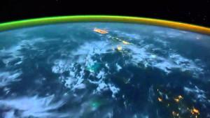 Auroras desde el espacio