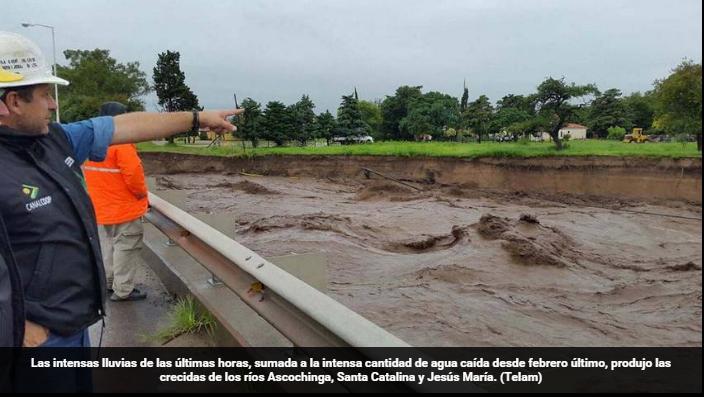 Cordoba inundada
