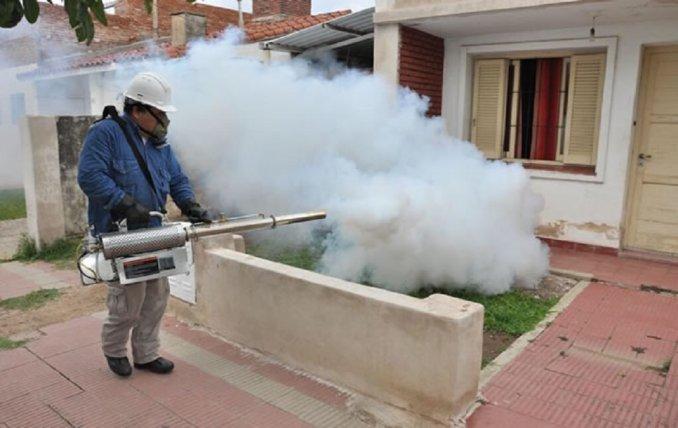 Dengue exterminio de mosquito