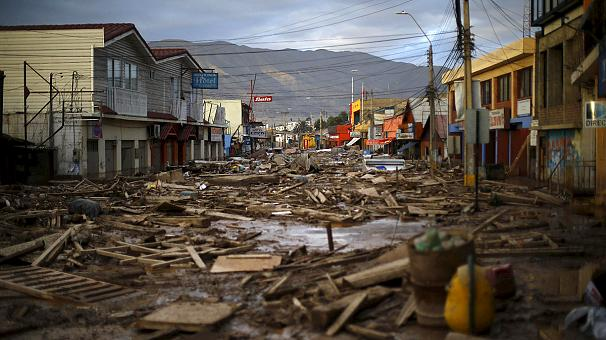 Desastre e inundacion en Chile