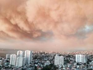 Fuego en Chile