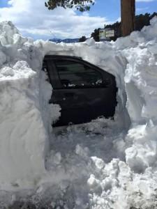 Gran nevada en Italia