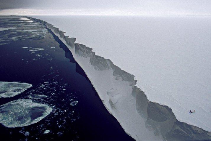 Hielo del Artico