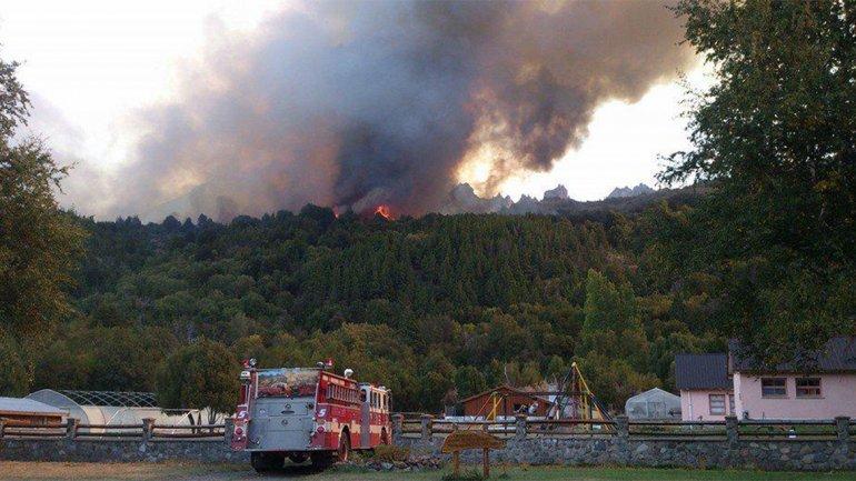 Incendios en Alerces
