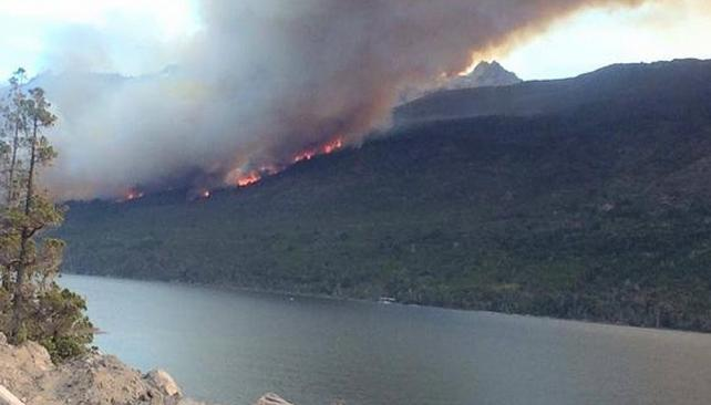 Incendios en Chubut