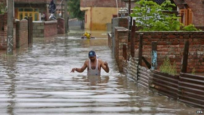 India inundada