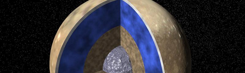 Interior de Luna de Jupiter