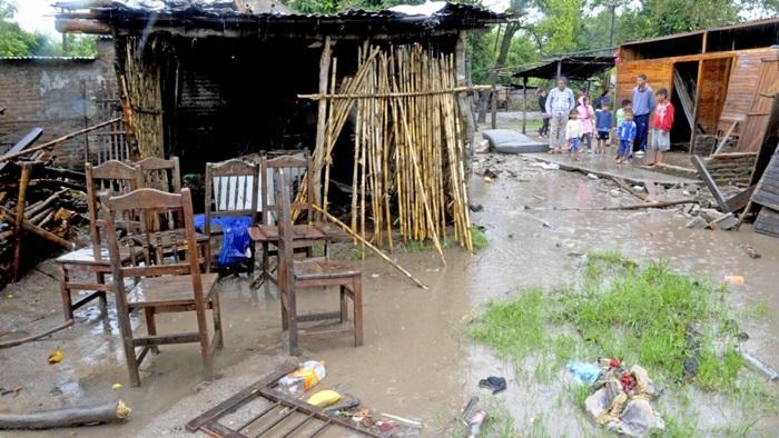 Inundados en la provincia de Tucuman
