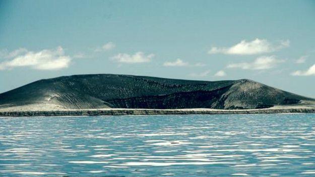 Isla volvanica