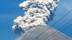 Mexico-Volcan de Fuego