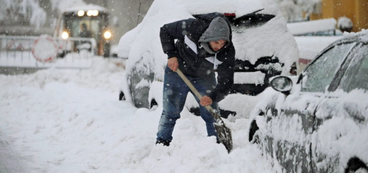 Nieve en Italia 1