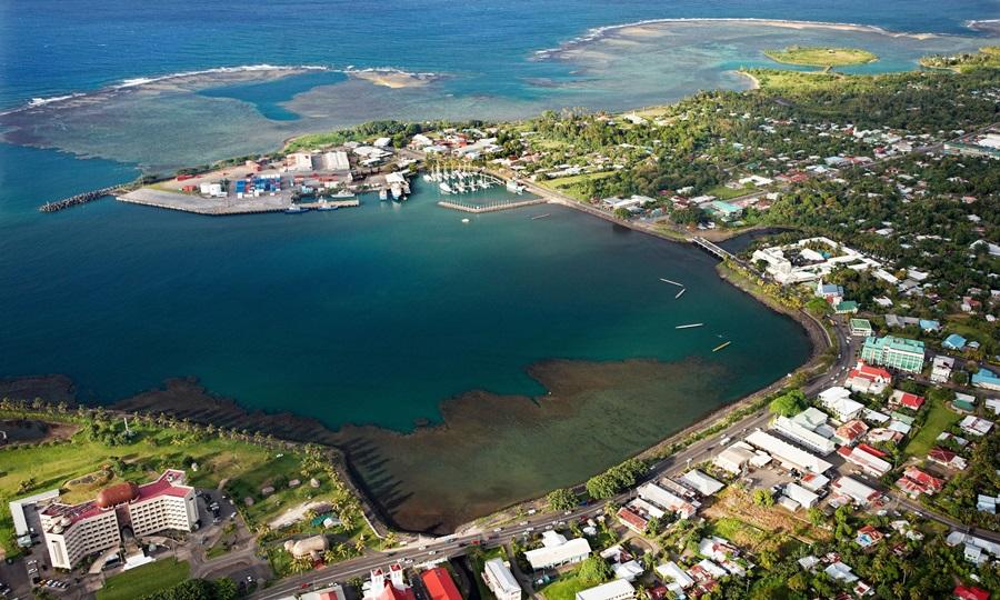 Sismos en Samoa