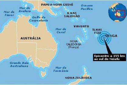 Sismos en el Pacifico