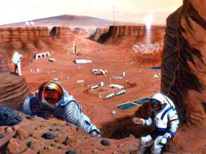 Una colonia en Marte