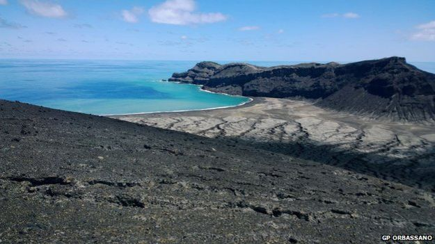 Volcan en Tonga 4