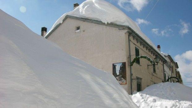 capra Italia nevada