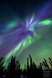 Auroras en Alaska