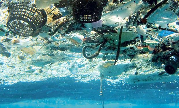 Basura bajo el Mar