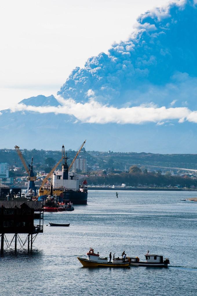Calbuco tercera erupcion