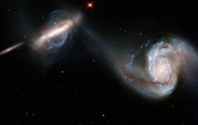 Choque galaxias