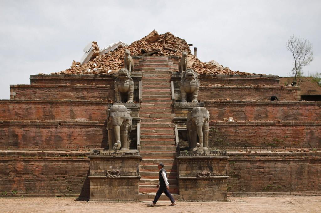 Desastre en Nepal 1