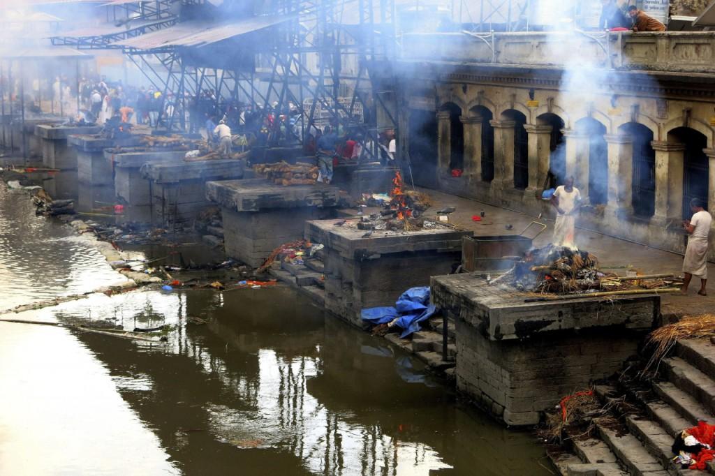 Desastre en Nepal