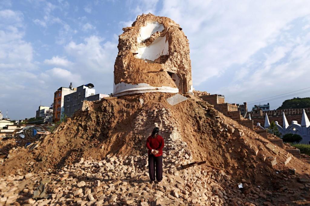 Desastre en Nepal 3