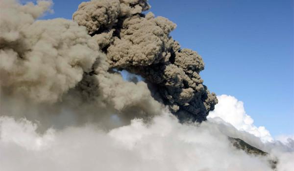 Erupcion del Turrialba