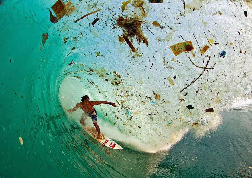 La ola sucia