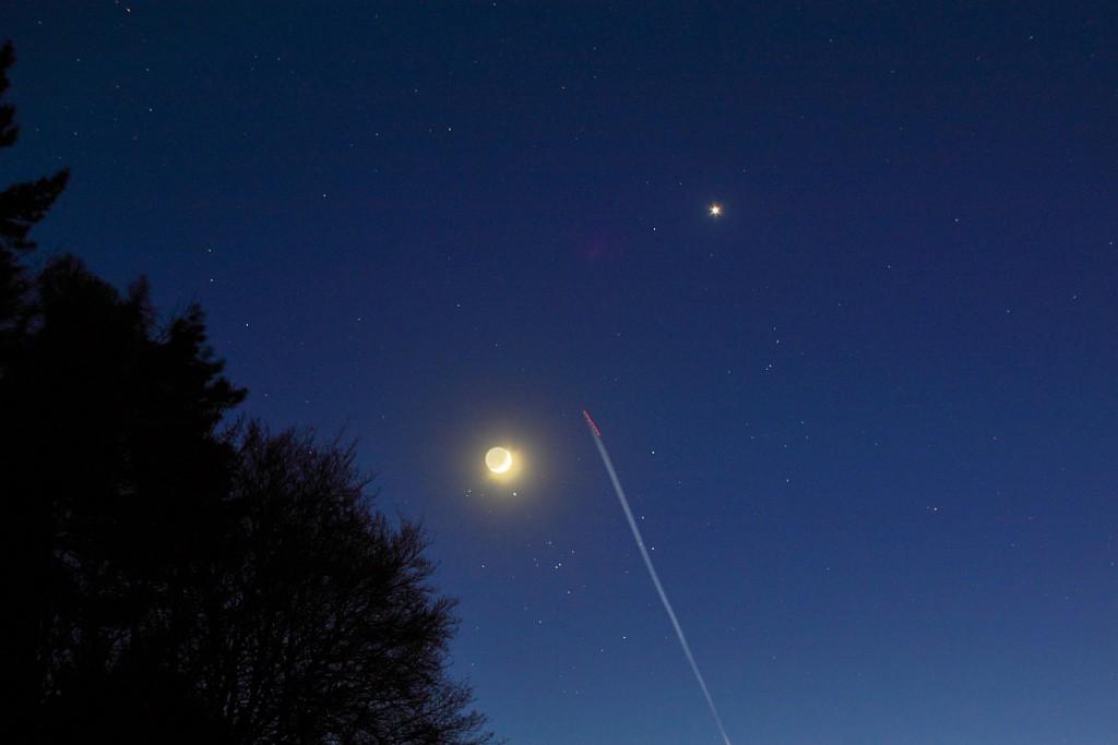 Luna, Venus y Aldebaran 2