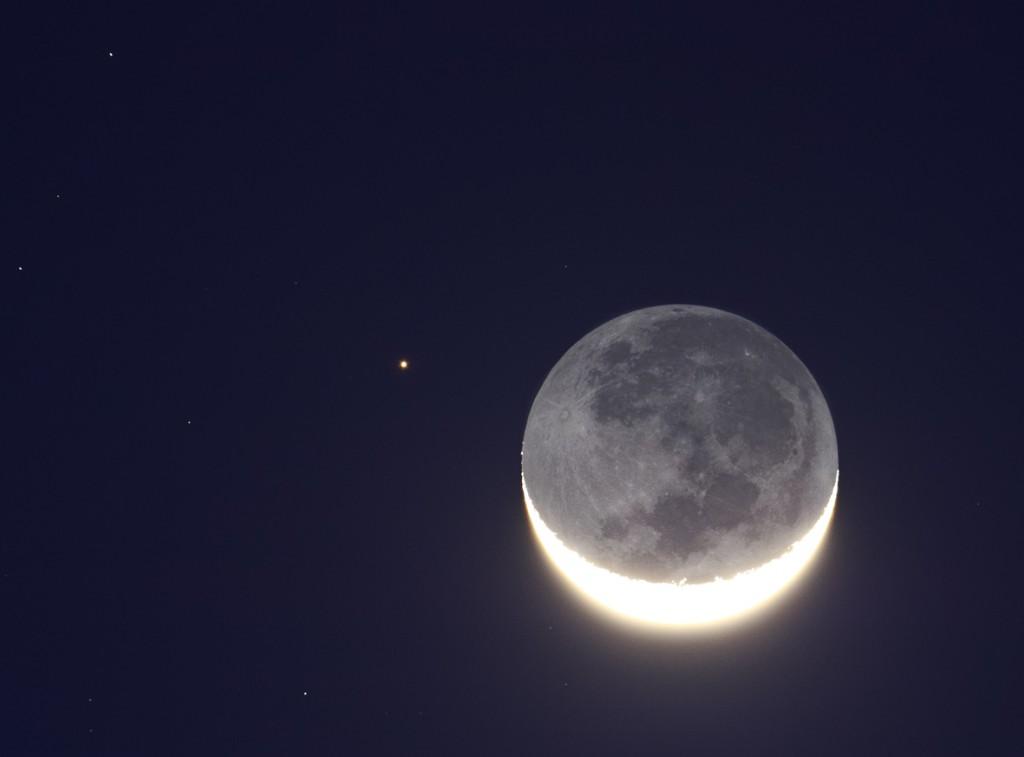 Luna y Aldebaran 1