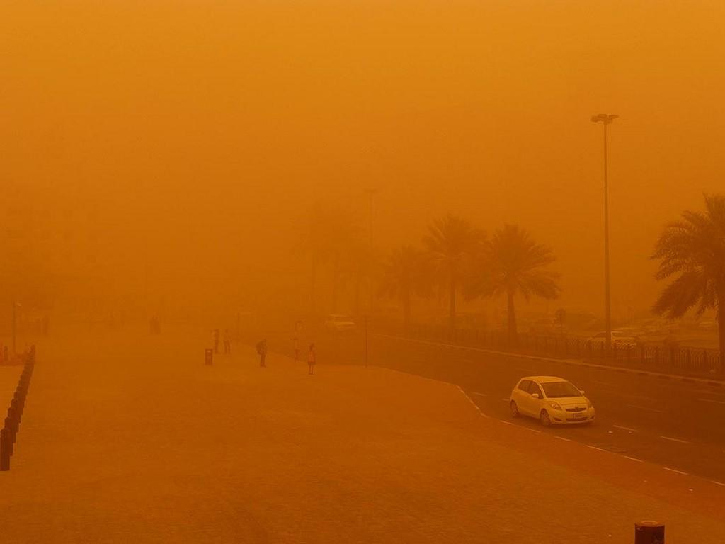 Tormenta arena Dubai 6