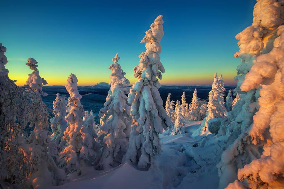 Nevados en Rusia