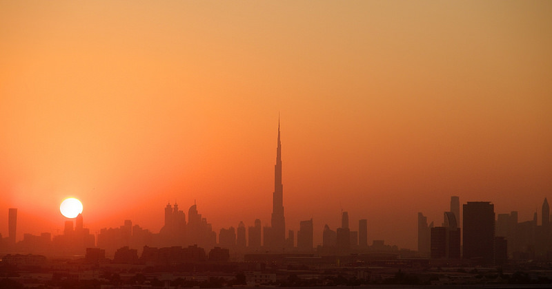 Tormenta arena Dubai