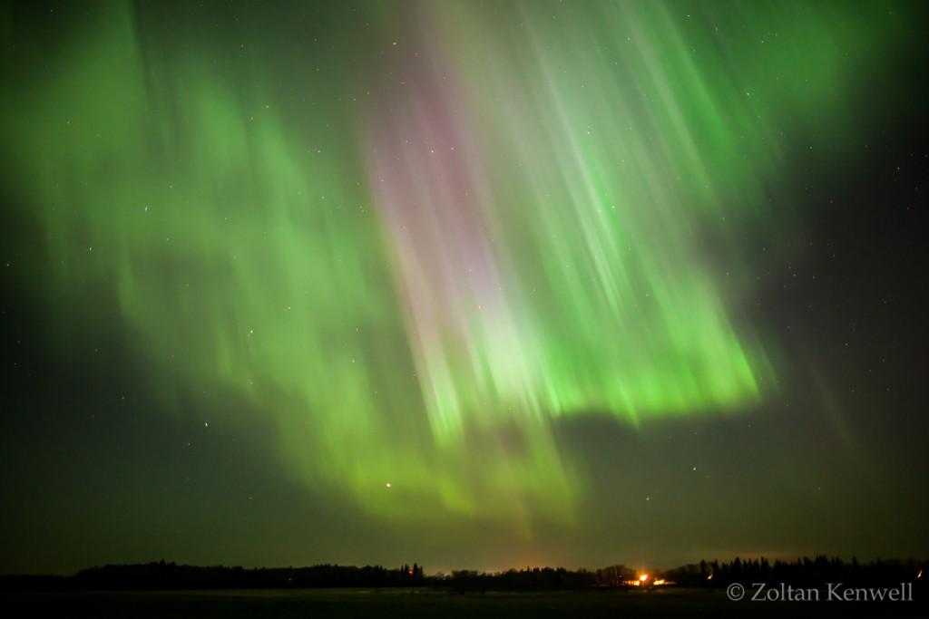Aurora en Alberta 1
