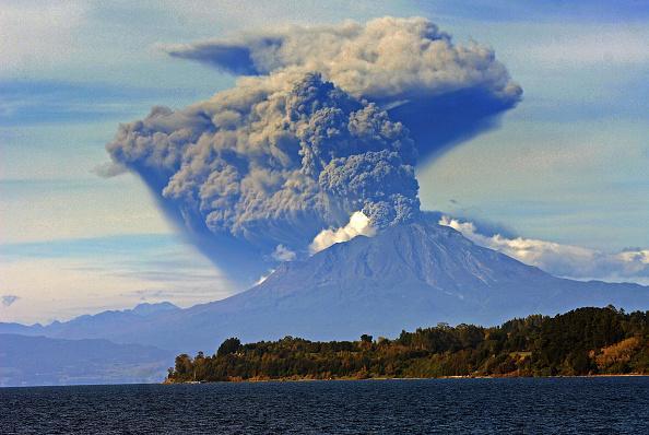 Chile y el volcan Calbuco