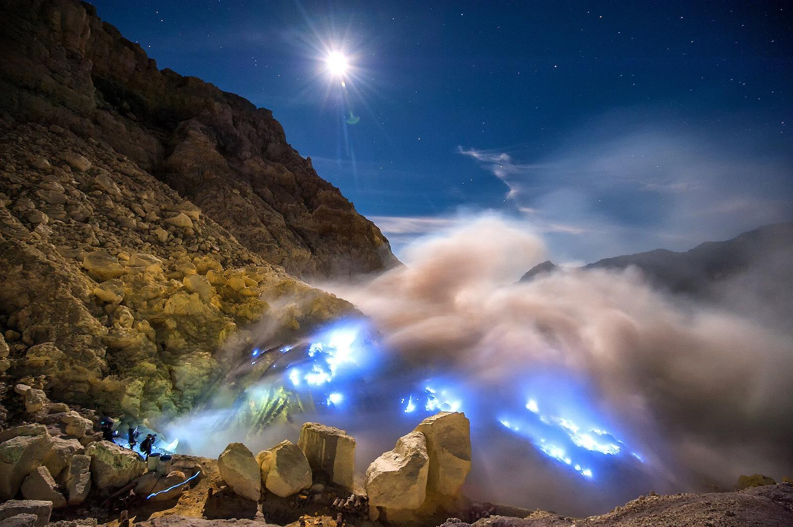Erupcion azul