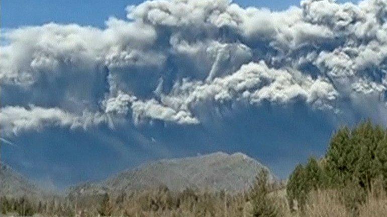 Erupcion de Calbuco
