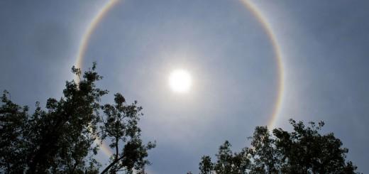 Halo alrededor del sol