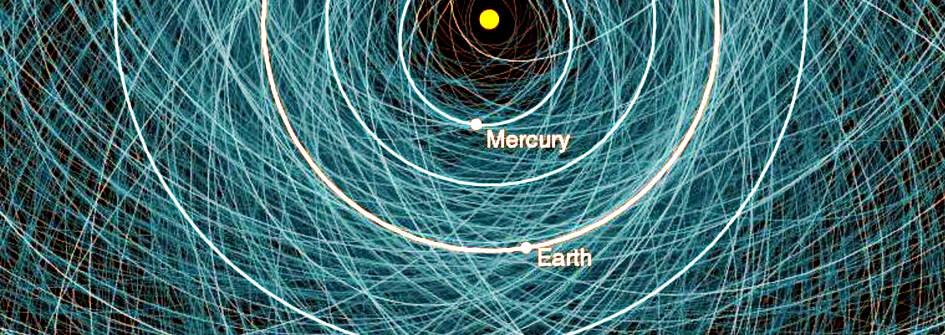 Ruta de asteroides