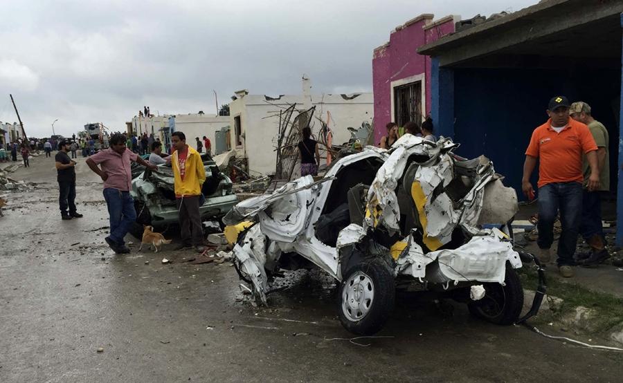 Tornado en Mexico 2