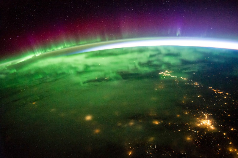 vistas desde el espacio:
